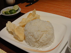 Rice and Krupuk
