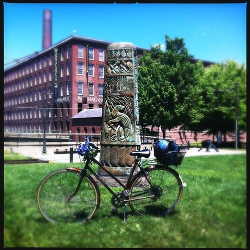 My favorite piece of public art in Lowell.