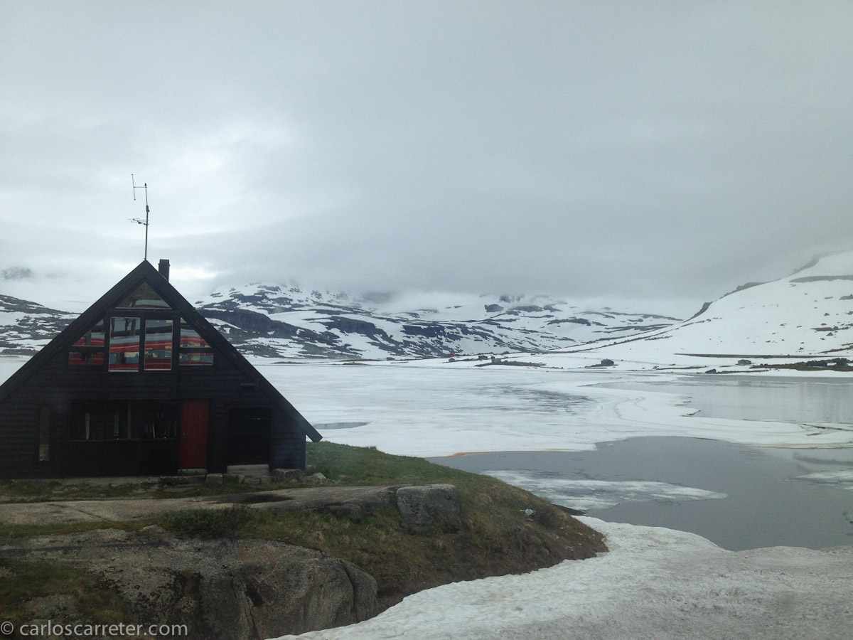 Atravesando Hardangervidda