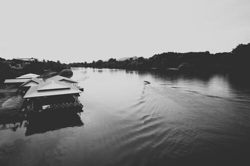 on the bridge over river kwai