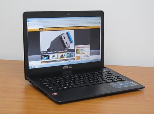 harga laptop Asus Slimbook X401U 3 jutaan layar 14 inci, notebook layar 14 inci 3 juta, laptop asus 3 jutaan terbaik