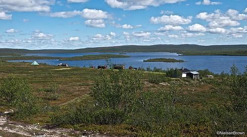Village beside Ráisjávri