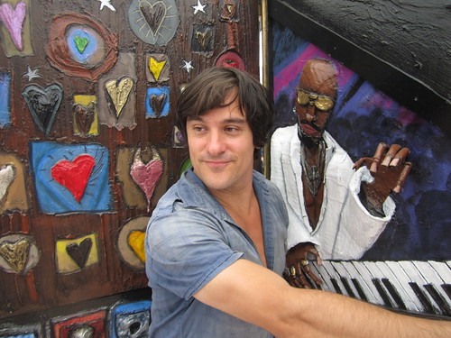 Chrustian Aldo art at Artfest 2012