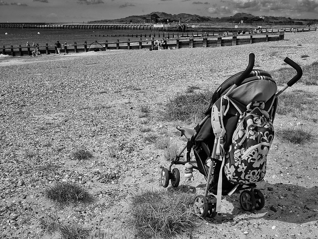 Buggy on the beach