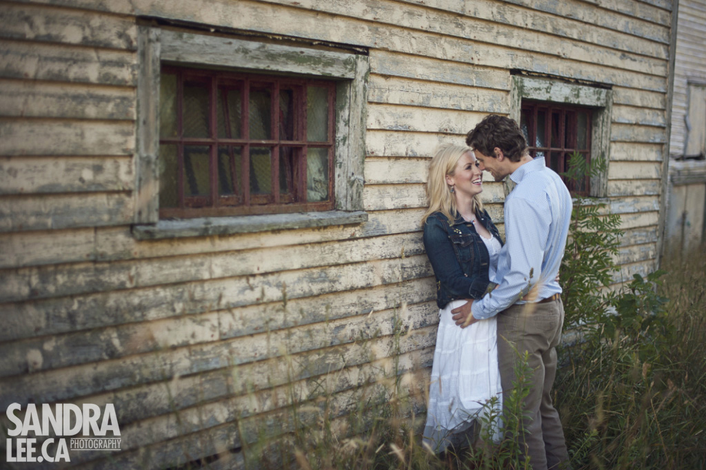 Trevor + Amy :: Rustic Newfoundland Farm Engagement