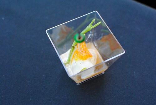 Hiroshi Shima (Sushi Roku) fluke sashimi