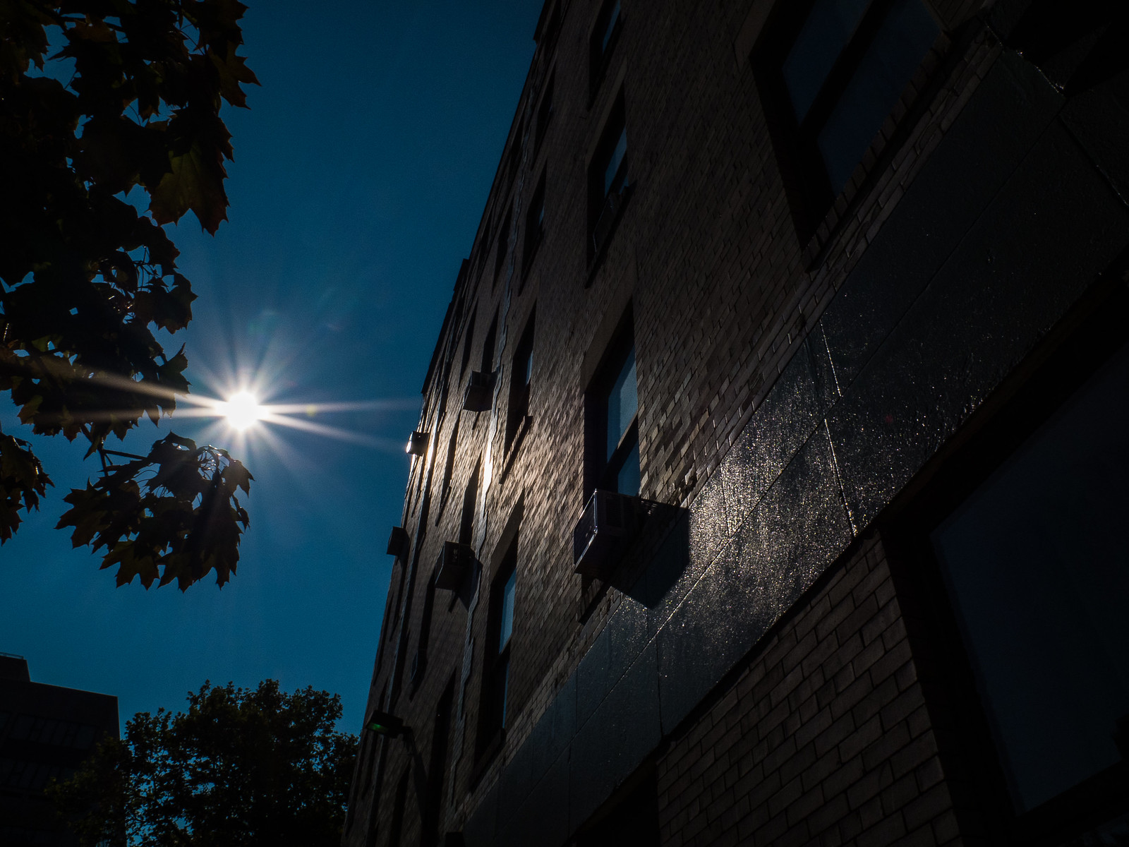 The morning sun upon the walls of my home. by wwward0