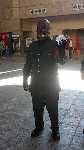 The Red Skull at Baltimore Comic-Con 2012