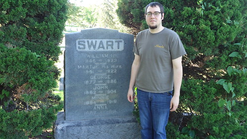 Ian @ William Swart Grave
