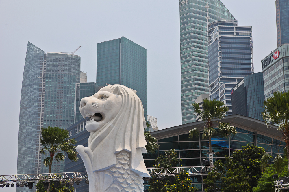 Merlion Fountain