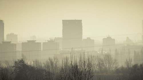 Fog or Smog : Scary Monsters (Bratislava) - Photo : Gilderic