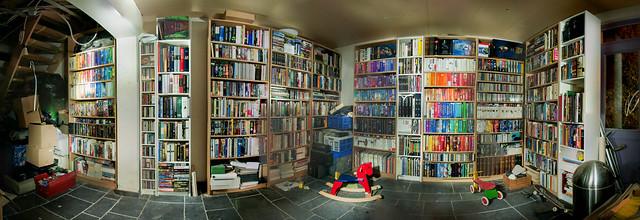 Bibliotheek vóór