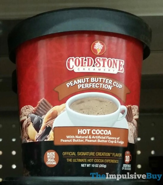 Cold Stone Creamery Peanut Butter Cup Perfection Hot Cocoa