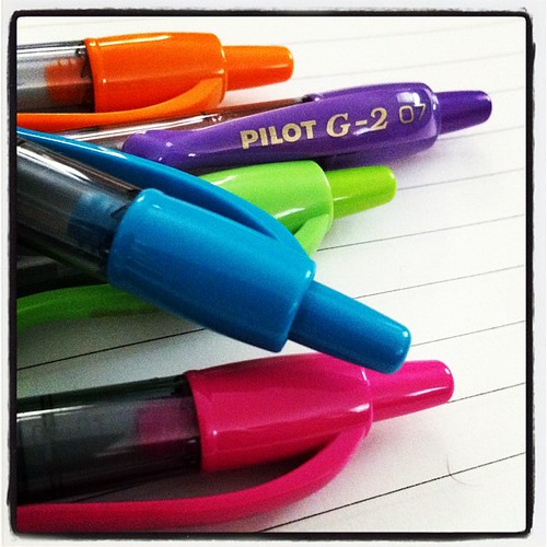 Best Pilot G2 colors