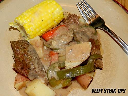 Beefy Steak Tips