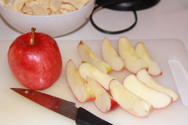 Parsnip Casserole - Apples