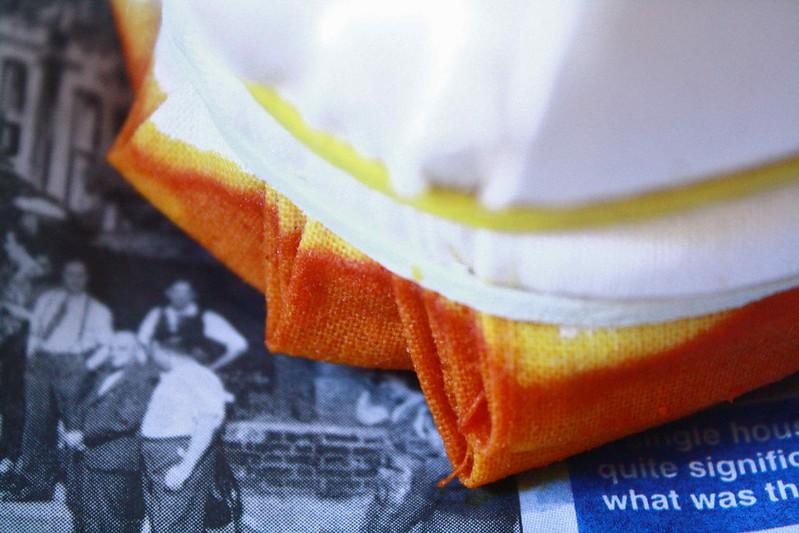 shibori printing | Turmeric dye