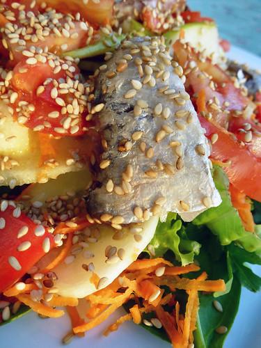 Sallads with Sardines - Insalata con Sardine