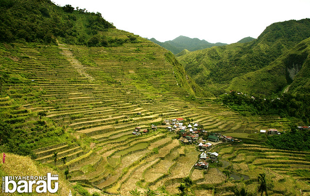 Batad Rice Terraces amphitheater shape Ifugao
