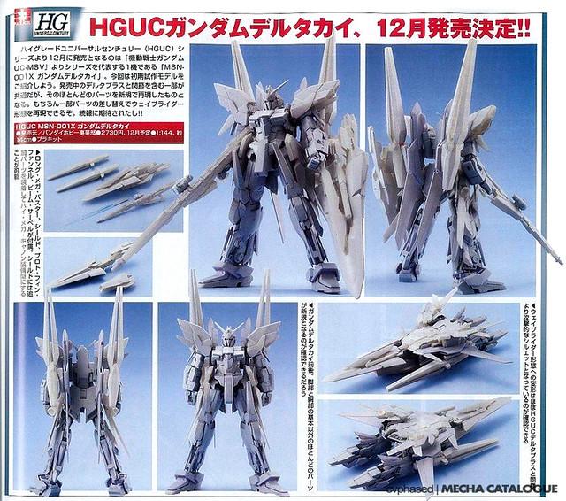 HGUC MSN-001X Delta Gundam Kai