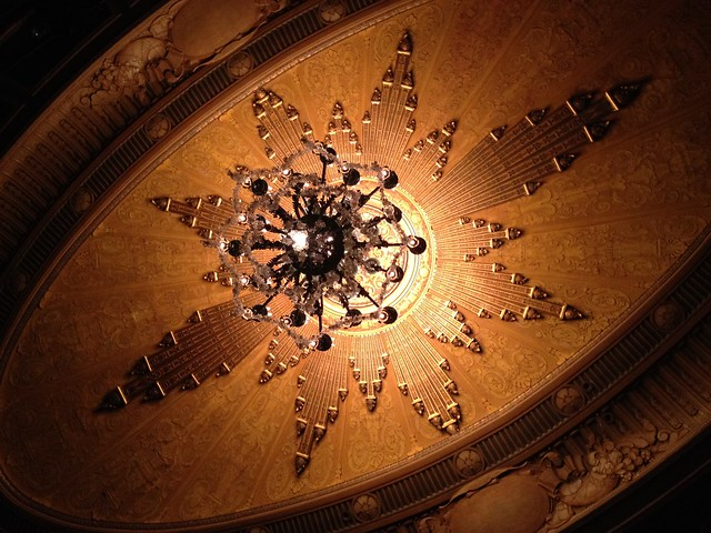 Chandelier at the Curran Theater