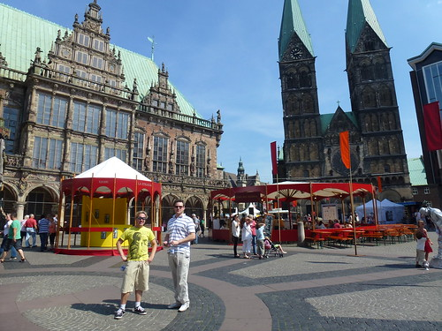 Alex and Nick in Bremen