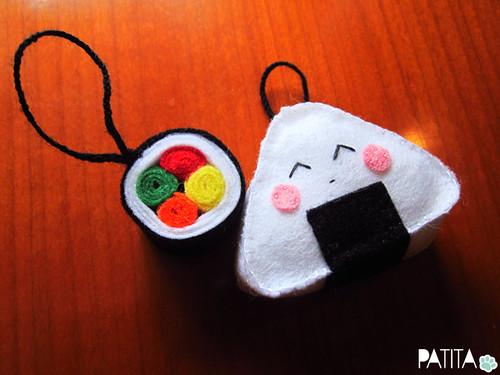 Onigiri y maki :)