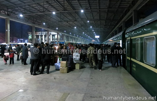 Arrival in Pyongyang