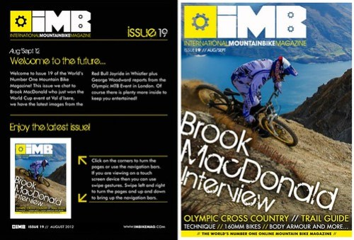 Issue 19   IMB   Free Mountain Bike Magazine Online
