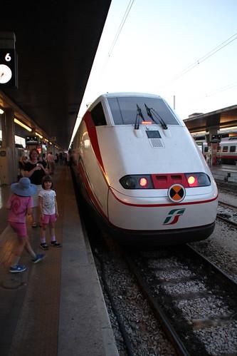 Our Freccia train