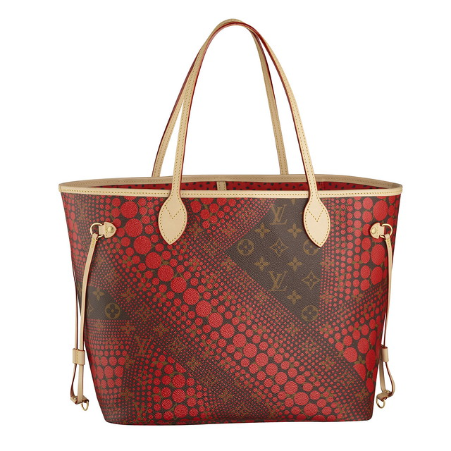 Neverfull MM Monogram Waves red