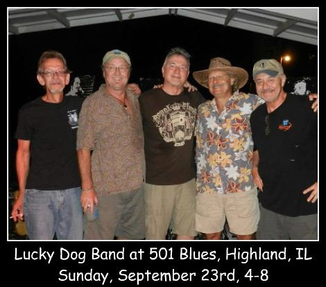 Lucky Dog Band 9-23-12