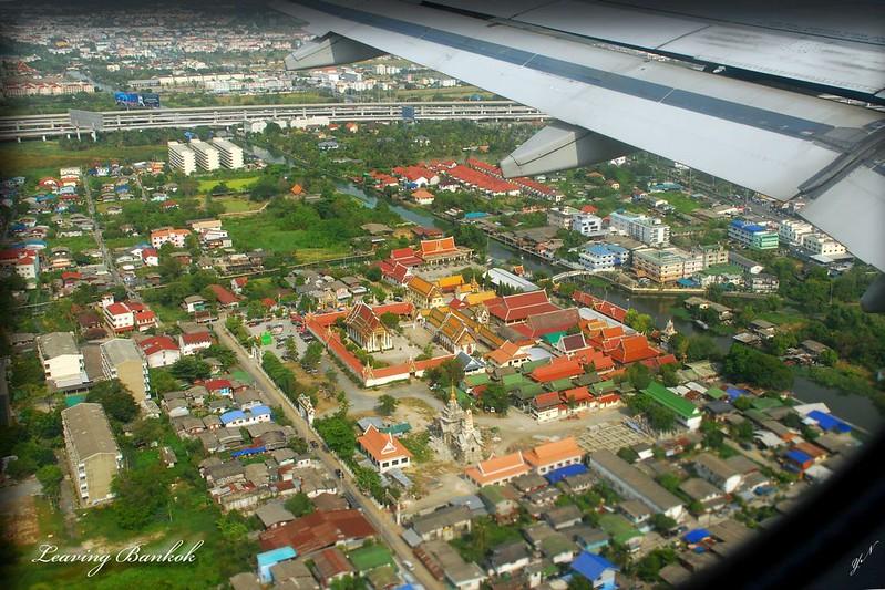 Leaving Bankok