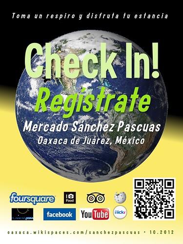 Check In! Mercado Sanchez Pascuas 10.2012