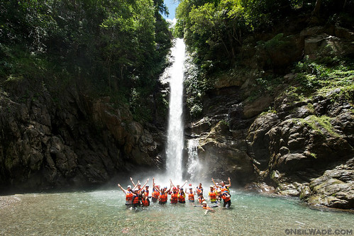 Join a river tracing group hike in Taiwan
