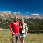 Dave and Jenn at Independence Pass