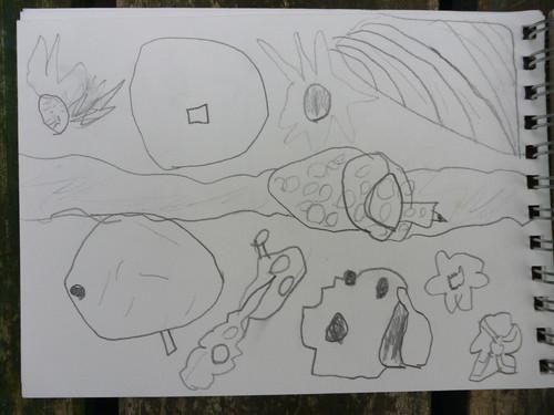 garden sketch waif 2