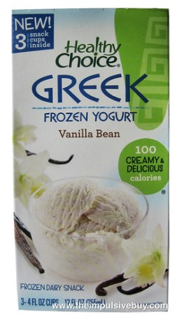 Healthy Choice Vanilla Bean Greek Frozen Yogurt