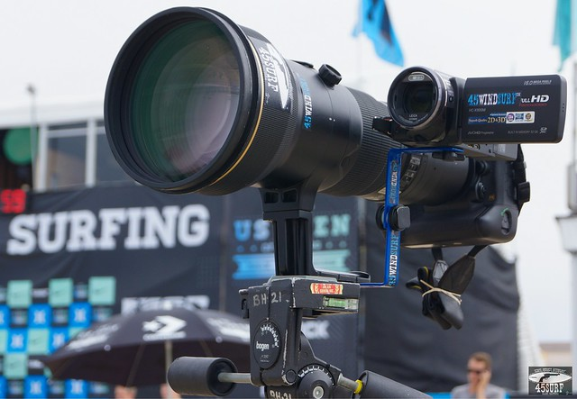 Nikon D4 with AF-S Nikkor 600mm f/4G ED VR & Video Camera @ Huntington Beach!