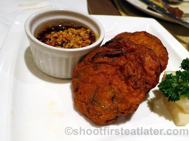 Thai fish cake P335