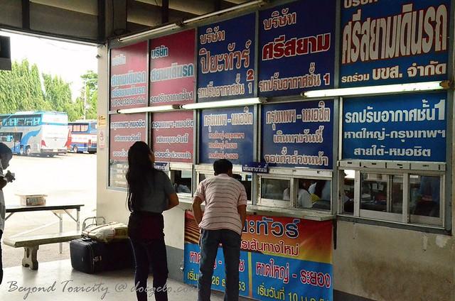 bus station in hat yai