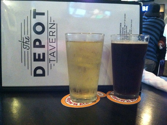 Drinks & dinner at The Depot Tavern