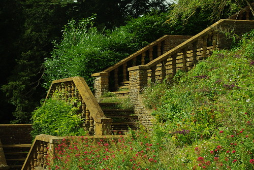 20120831-11_Upton House Gardens - Balustraded Steps by gary.hadden