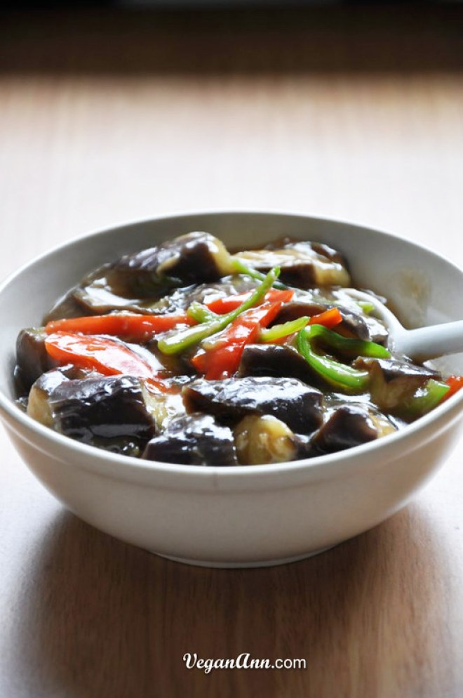 Simple Eggplant with Garlic and Soysauce0