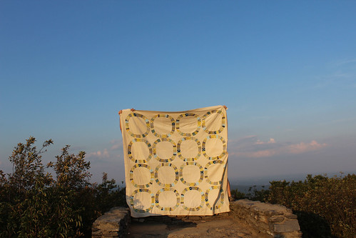 a quilt with a view