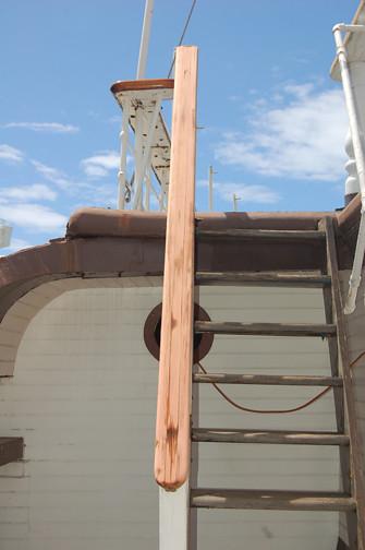 sanded rail