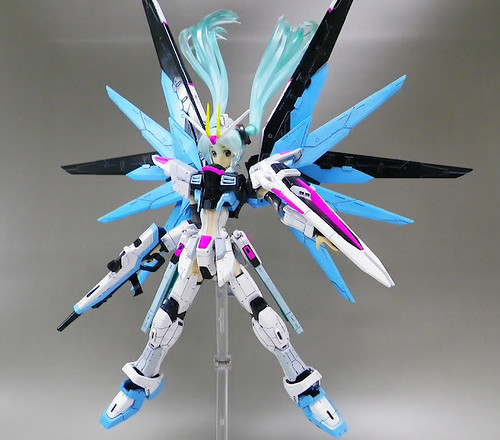 MG Girl Freedom Gundam - Custom Build Modeled by nm17090922 (1)