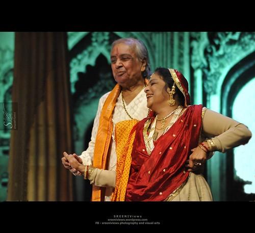 Natkat Umaji with Kanhaiya Birju Maharaj