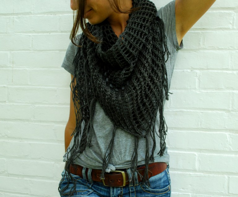 Free Pattern: Sweet November Knit Shawl