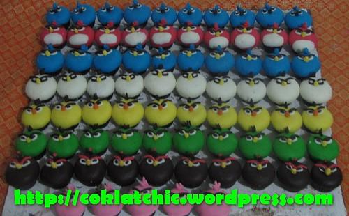 Minicupcake Rio Angry Bird
